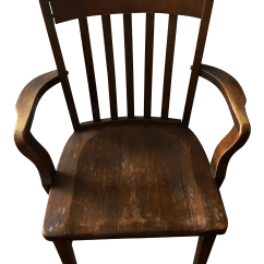 Vintage Wooden Chairs Rocking Chair Metal Murphy Company Armchair Chairish