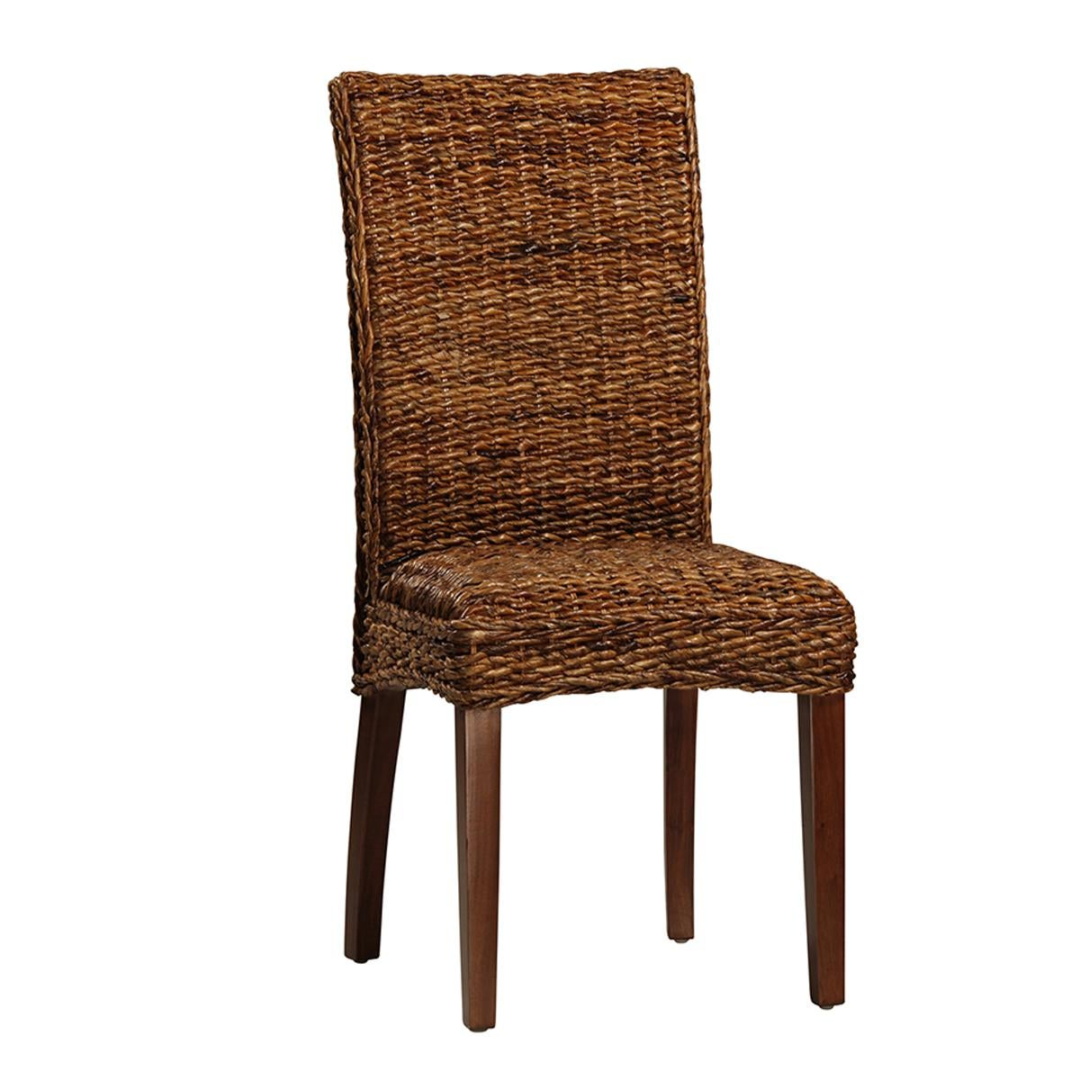 Banana Rocker Chair Woven Banana Leaf Dining Chair Chairish