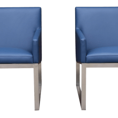 Steel Lounge Chair Target Wingback Covers Stainless Chairs A Pair Chairish