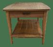 1970s Mid Century Modern Wooden End Table Chairish
