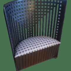 Charles Rennie Mackintosh Willow Chair Rattan Indoor Chairs Nz 1970s Vintage Chairish