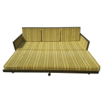 Mid Century Modern Convertible Sleeper Sofa