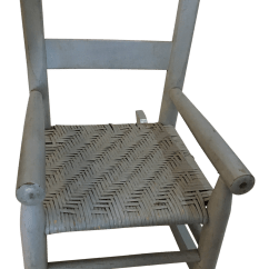 Small Rocking Chairs Hanging Chair Notonthehighstreet Sage Green Painted Child S Chairish