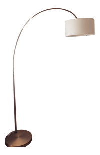 West Elm Bronze Arc Lamp