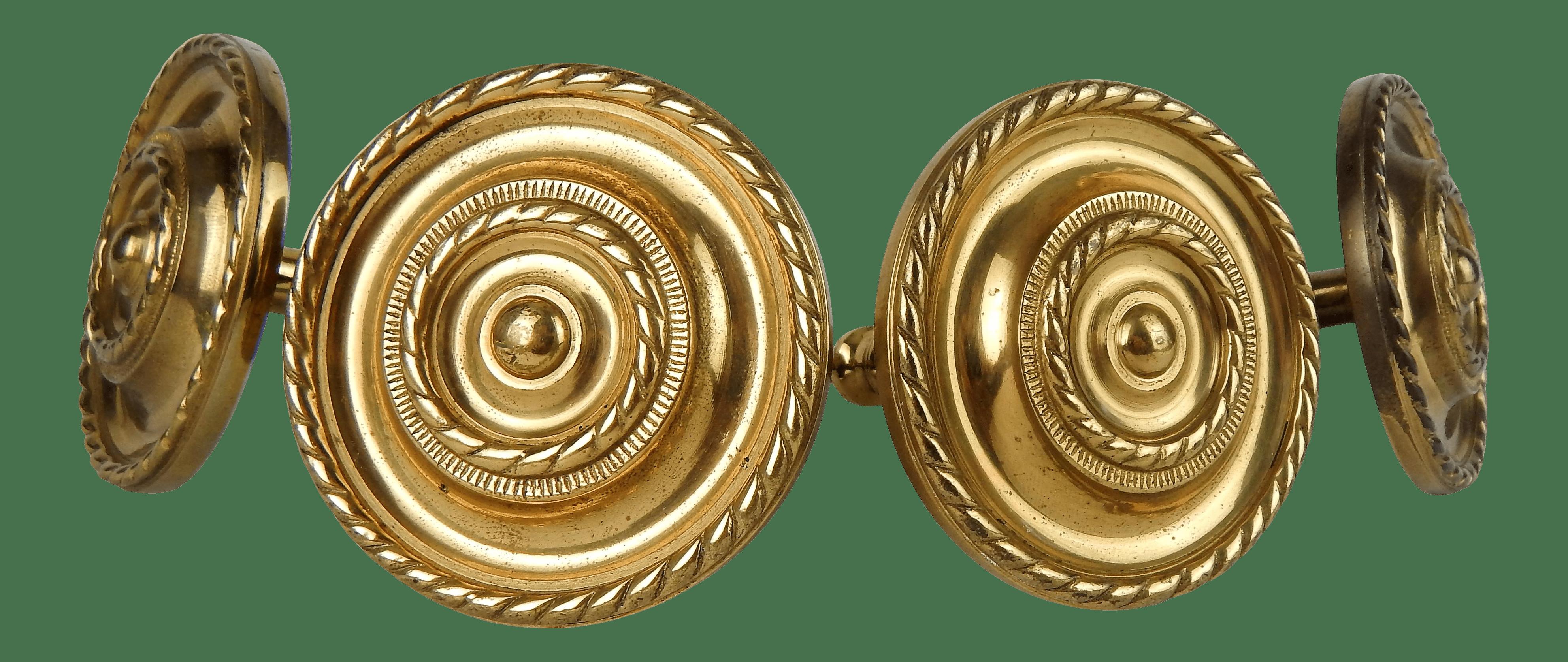 vintage brass curtain tie backs s 4