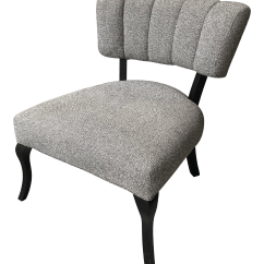 Mitchell Gold Chairs Upholstered Swivel Recliner Club Chair Chairish