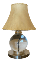 Jacques Adnet Baccarat Crystal Table Lamp Chairish