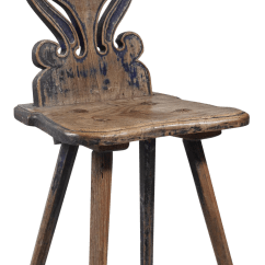 Chair Stands On Patio Table And Chairs Clearance Distinguished Swedish Folk Art 19th Century Decaso For Sale