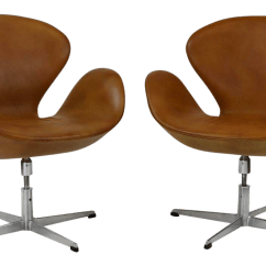 Arne Jacobsen Swan Chair Wedding Sashes Diy Vintage Chairs By Fritz Hansen A Pair Chairish For Sale