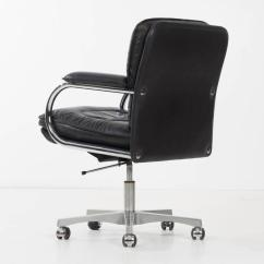 Desk Chair York Theodore Koch Barber Parts World Class Mariani Leather Decaso For Sale In New Image 6 Of 10