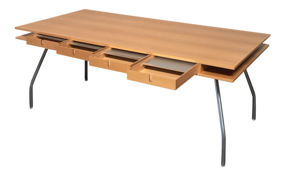 Dordoni Beech Wood Worktop Table for Design Within Reach