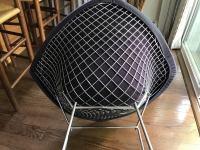 Bertoia Knoll Mid-Century Modern Chrome Diamond Chair ...