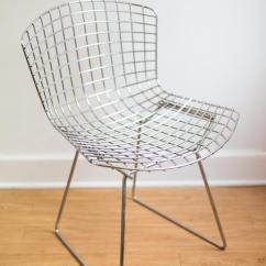 Bertoia Wire Chair Original Ergonomic Guitar Harry Chairish For Sale In Rochester Image 6 Of