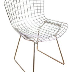 Bertoia Wire Chair Original Cardboard Table And Chairs Harry Chairish For Sale