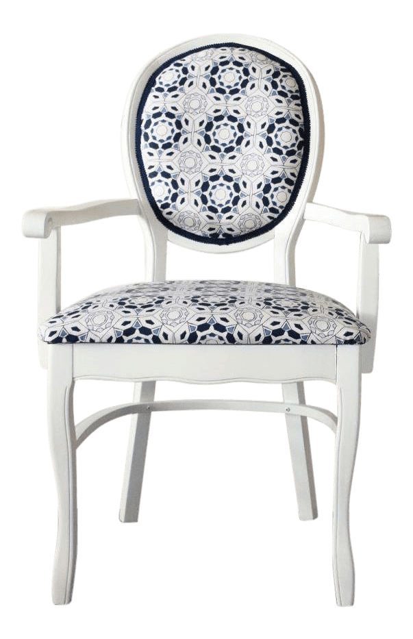 Refurbished Chairs Pair Of Refurbished Vintage Painted White Wooden Arm Dining Chairs