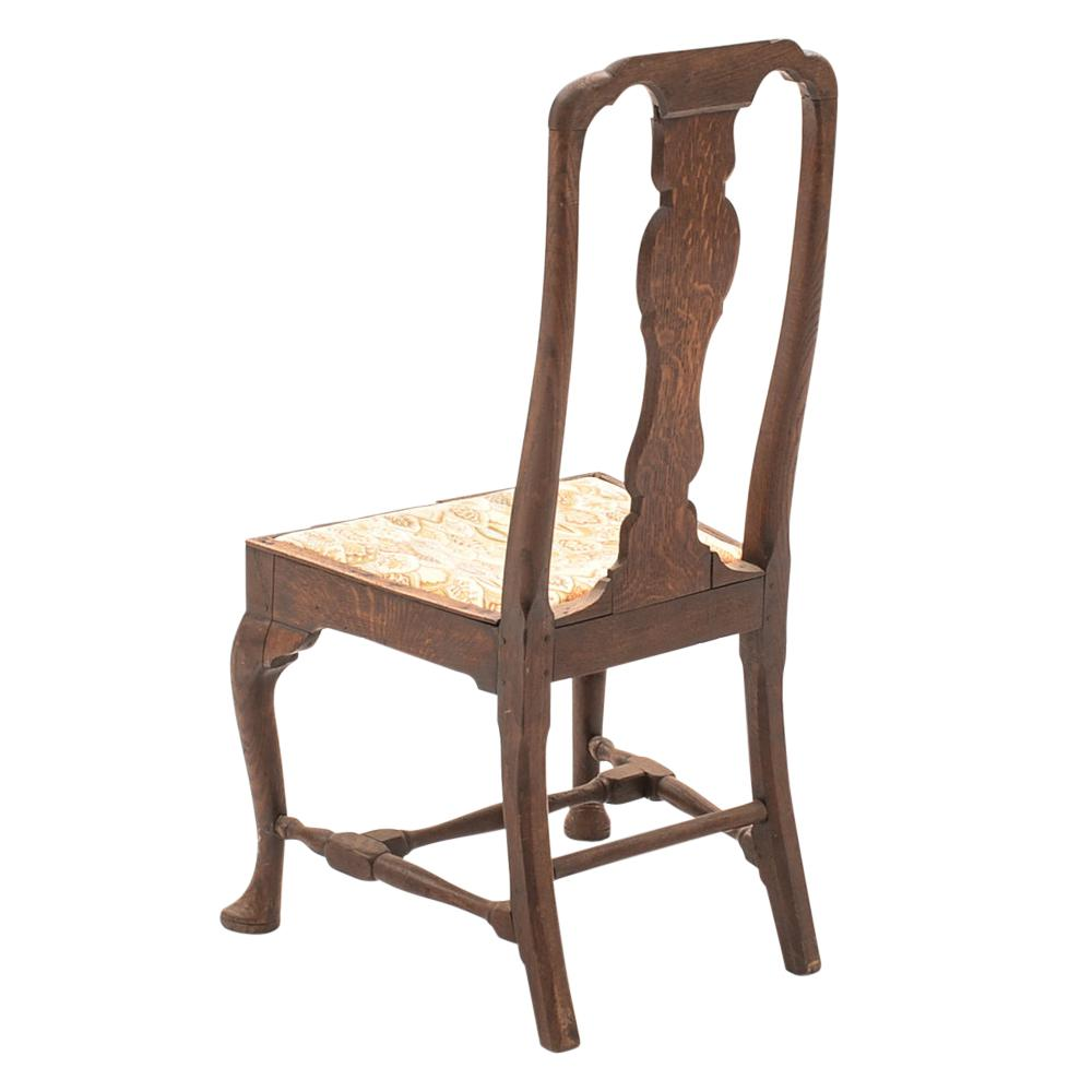 queen ann chairs dining room side antique english anne chair chairish traditional for sale image 3 of 6
