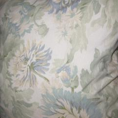J M Paquet Sofa Milari Linen Sleeper Jm Floral Chairish For Sale In San Diego Image 6 Of 9