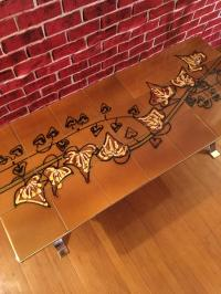 French Mid-Century Tile Coffee Table | Chairish