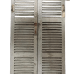 Antique French Shutters A Pair