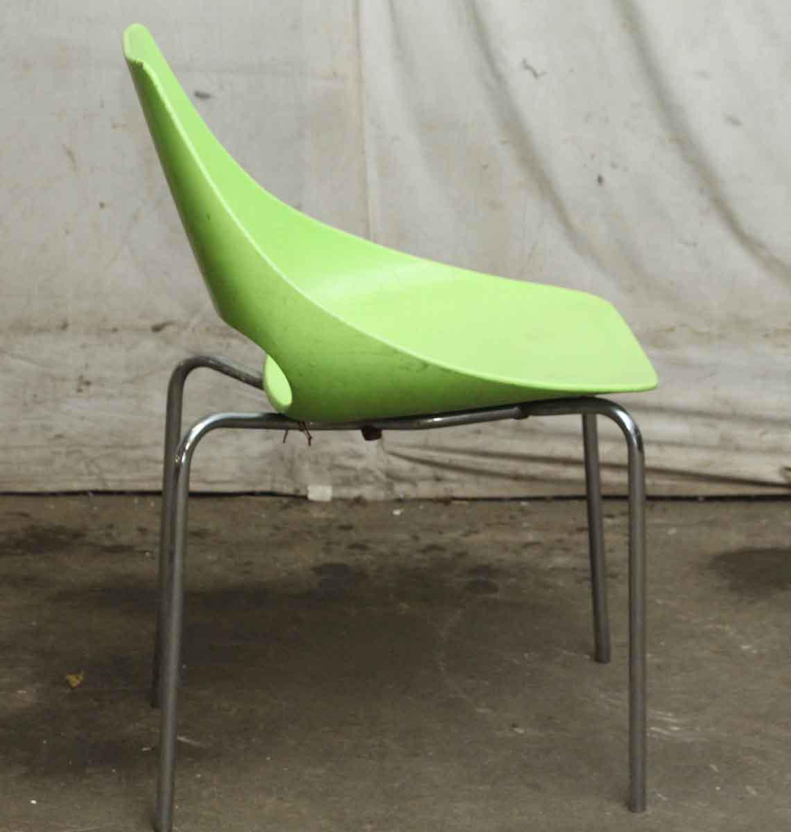lime green chairs for sale childrens desk and chair set sri lanka metalmobil echo modern chairish image 4 of 7