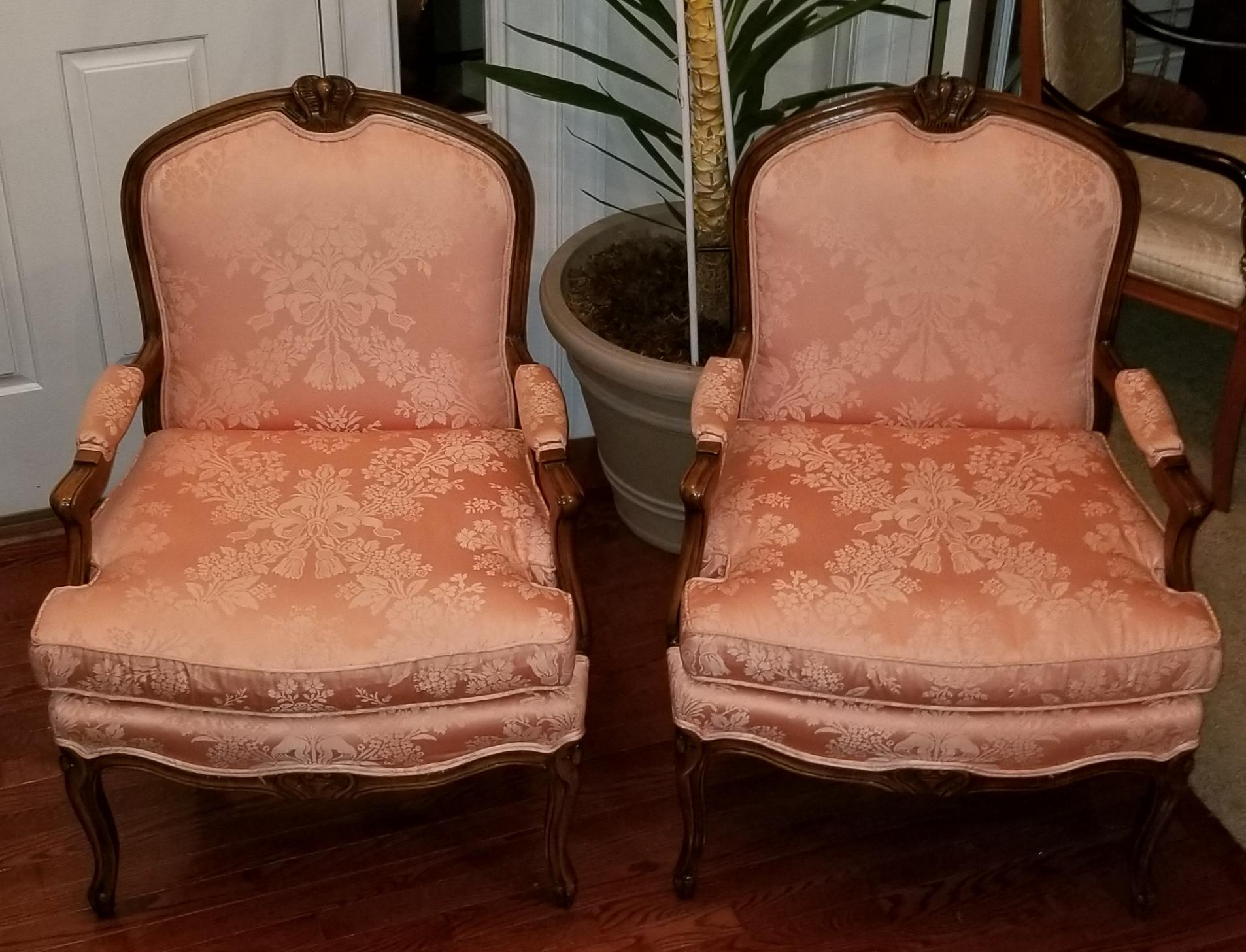 french bergere chair office cushion walmart erwin lambeth chairs a pair chairish for sale image
