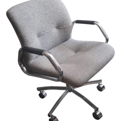 Vintage Steelcase Chair Reclining Accent Canada Used Office Chairs Chairish Executive
