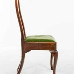 Queen Ann Chairs Jonathan Adler Fine 18th Century Anne Oak A Pair Decaso Nice Rustic Of Made In The United Kingdom Early