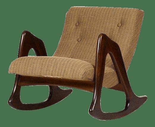 adrian pearsall rocking chair unusual bedroom chairs 1960s danish modern for craft associates walnut lounge rocker