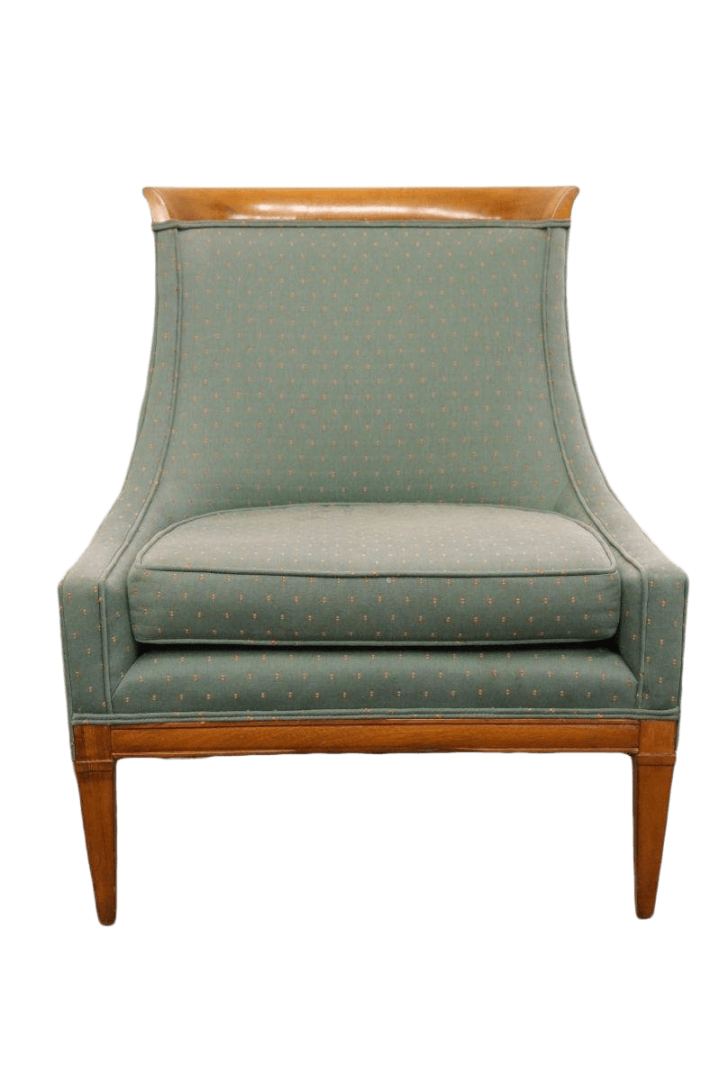 Green Upholstered Chair Mid Century Modern Green Upholstered Accent Chair