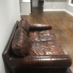 72 Lancaster Leather Sofa Chesterfield Sofas Uk Fabric Restoration Hardware Chairish For Sale Image 5 Of 6