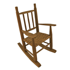 1920s Rocking Chair Prouve Standard Replica Vintage Wooden Doll S Chairish For Sale