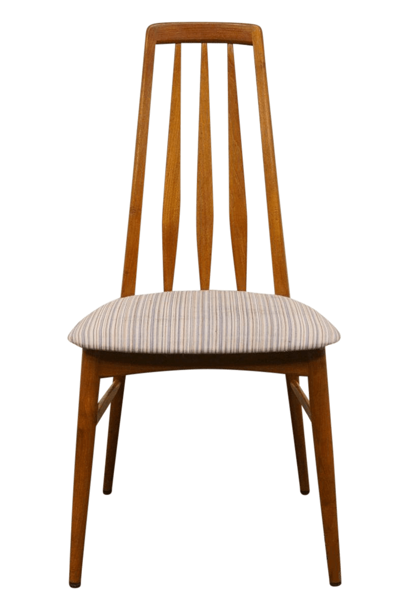 danish dining chair with ottoman late 20th century vintage koefoeds molbelfabrik for sale