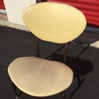 Mid-Century Modern Metal Framed Chair   Chairish