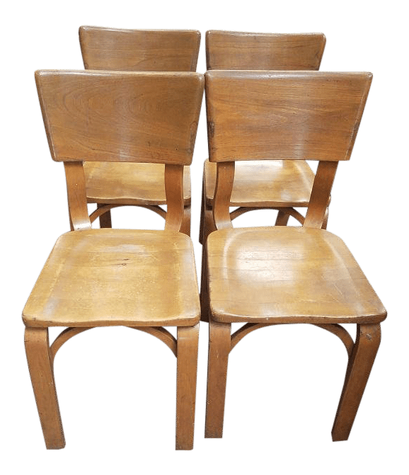 motor chairs for sale wingback chair with ottoman canada set of four thonet ny maple ford co plaque chairish
