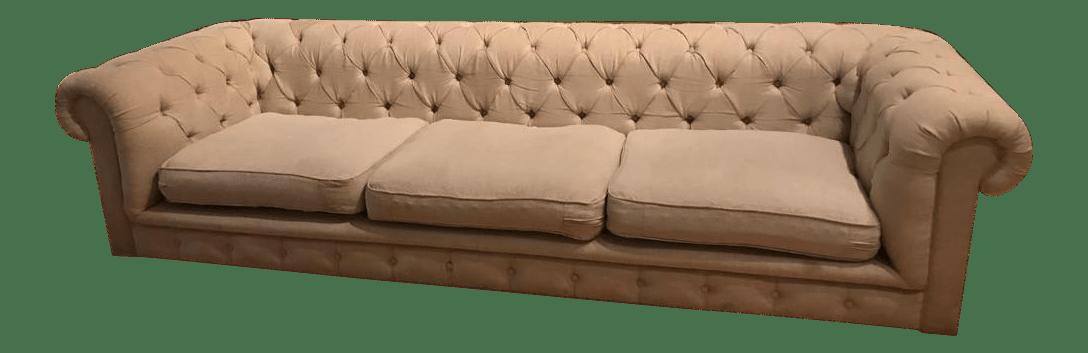 restoration hardware kensington sofa 106 leather refinishing kit upholstered chairish