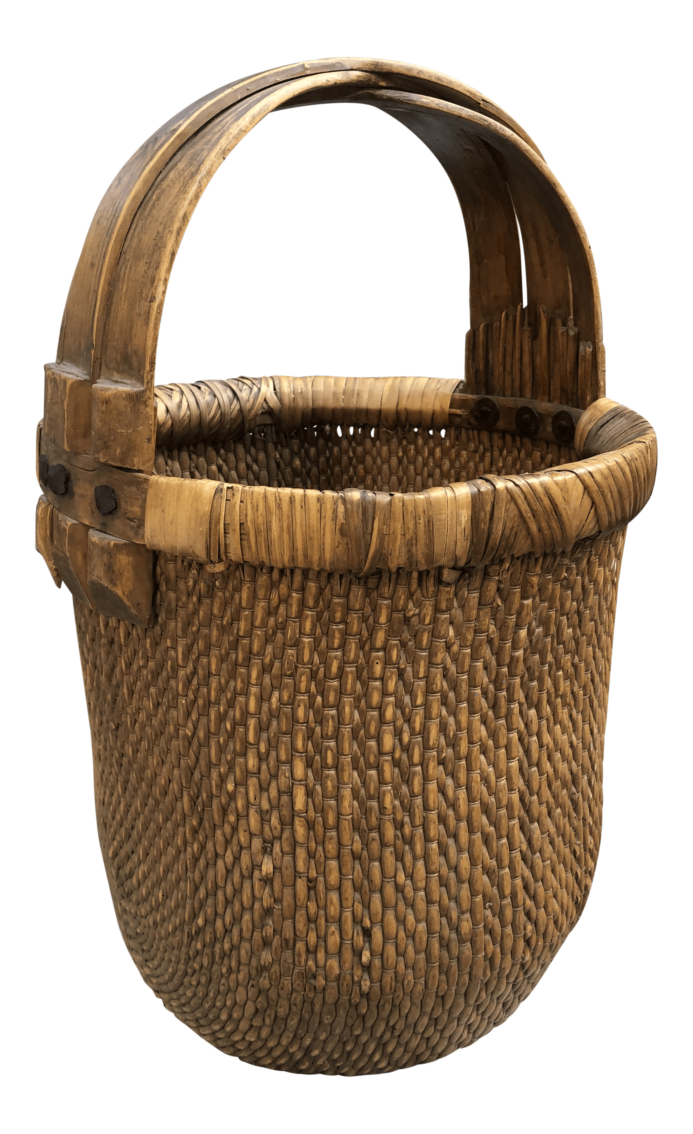 vintage used chinese baskets