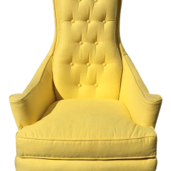 High Back Chairs With Arms Poolside Lounge Vintage Used Accent For Sale Chairish Hollywood Regency Glam Scroll Chair