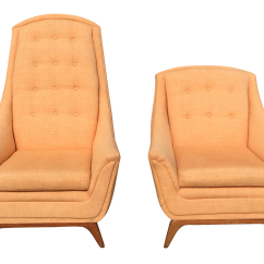 Adrian Pearsall Lounge Chair Most Comfortable Living Room Chairs Gently Used Furniture Up To 60 Off At Chairish Mid Century Modern His Hers A Pair