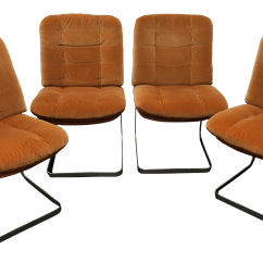 Revolving Chair Used Dining Room Covers Target Australia Vintage Office Chairs For Sale Chairish 1970s Roche Bobois Cantilevered Set Of 4