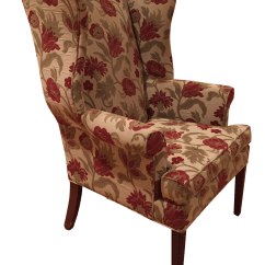Ethan Allen Wingback Chairs Big Comfortable Chair Chairish For Sale
