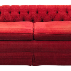 Tufted Button Sofa Replacement Cushion Inserts Singapore Vintage Chesterfield Style Back Chairish