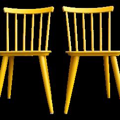 Yellow Chairs For Sale Portable Gym Chair Mid Century Scandinavian Ky Varjonen A Pair Chairish