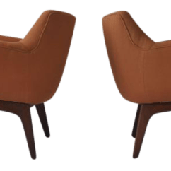 Adrian Pearsall Lounge Chair Comfortable Folding Chairs Lovely Pair Of Decaso For Sale