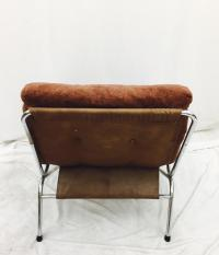 Mid-Century Tubular Chrome Chair | Chairish