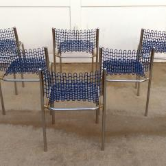 David Rowland Metal Chair Korum Accessories Uk Thonet Sof Tech Side Chairs By Set Of 6 Chairish Mid Century Modern
