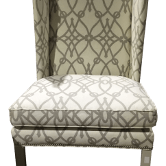 Wing Chairs On Sale Wicker Tub Nz Gently Used Hickory Chair Furniture Up To 70 Off At Chairish For
