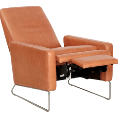Chair Design Within Reach Plastic Outside Table And Chairs 21st Century Modern Leather Reclining Lounge By For Sale