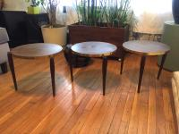 Mid-Century Modern Accent Tables - Set of 3   Chairish