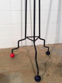 Vintage Atomic Era Coat Rack