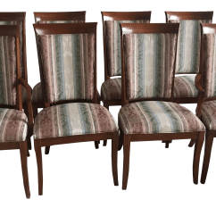 Ethan Allen Palm Grove Chair Outdoor Cushions Sunbrella Fabric Gently Used Furniture Up To 50 Off At Chairish 1990s Vintage Dining Chairs Set Of 8
